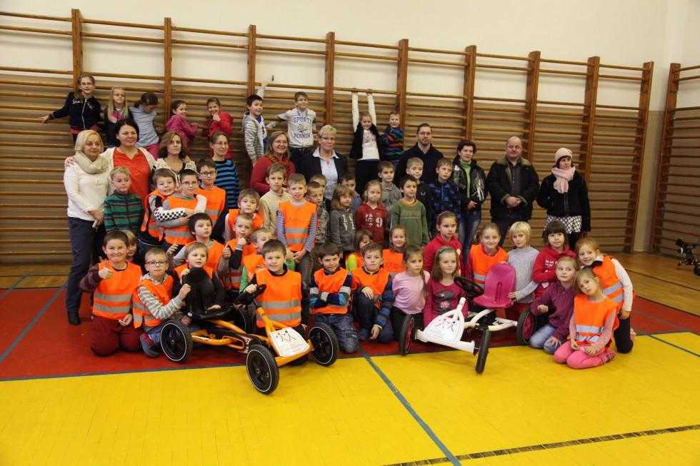 Nadácia podporila rozvoj dopravnej výchovy na ZŠ v Humennom