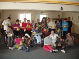 Podporili sme Domov sociálnych služieb DÚHA